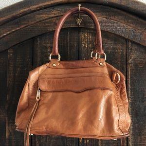 Rebecca Minkoff Cognac Leather Satchel